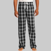 Flannel Plaid Pant