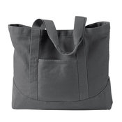 14 oz. Pigment-Dyed Large Canvas Tote