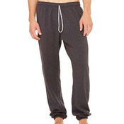 Unisex Sponge Fleece Long Scrunch Pant