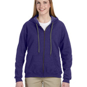 Heavy Blend™ Ladies' 8 oz. Vintage Classic Full-Zip Hood