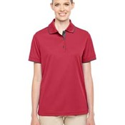 Ladies' Motive Performance Piqué Polo with Tipped Collar