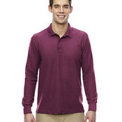 Adult 6 oz. Double Piqué Long-Sleeve Polo