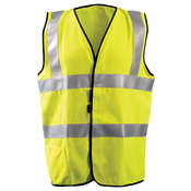Men's High Visibility Classic Solid Standard Safety Vest